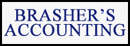 brasher's accounting logo (front)